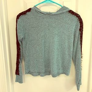 Girls size 10 Justice Top